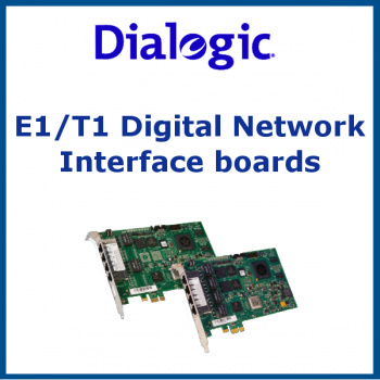 E1/T1 Digital Network Interface boards