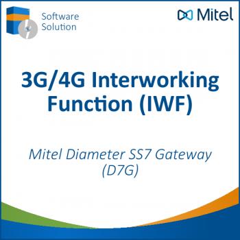 Mitel D7G - Diameter SS7 Gateway - 3G/4G Interworking Function (IWF)