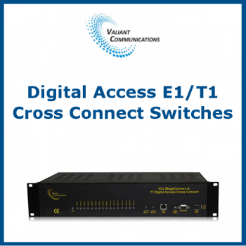 Digital Access E1/T1 Cross Connect Switches