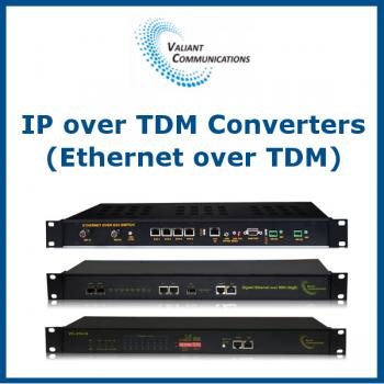 IP over TDM (Ethernet over TDM) Converters by Valiant