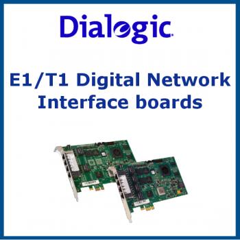 E1/T1 Digital Network Interface boards