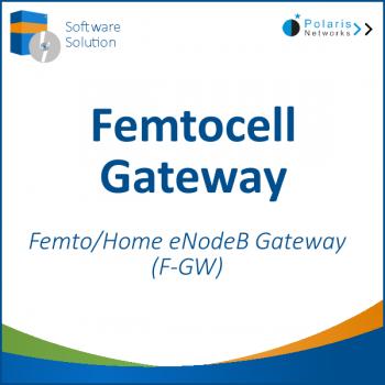 Femtocell Gateway - Femto/Home eNodeB Gateway (F-GW)