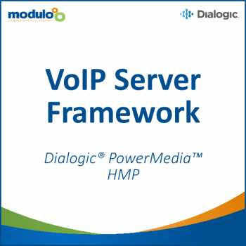 VoIP Server Framework - Dialogic PowerMedia HMP