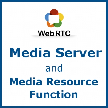 WebRTC Media Server and Media Resource Function