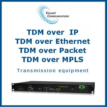 TDM over IP / TDM over Ethernet / TDM over Packet / TDM over MPLS Transmission equipment