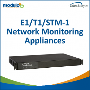 Telcobridges TMonitor: E1/T1/STM-1 Network Monitoring Appliances