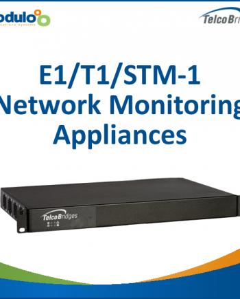 Telcobridges TMonitor: E1/T1/STM-1 Network Monitoring Appliances