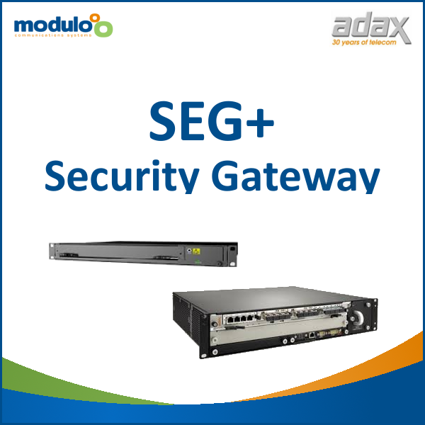Adax SEG+ Security Gateway for 3G and 4G mobile networks