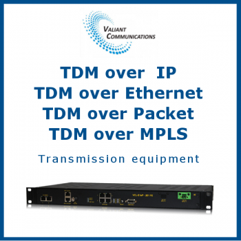 TDM over IP / TDM over Ethernet / TDM over Packet / TDM over MPLS Transmission equipment