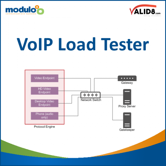 VoIP Load Tester