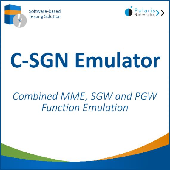 CIoT Serving Gateway Node (C-SGN) Emulator