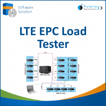 LTE Evolved Packet Core (EPC) Load Tester