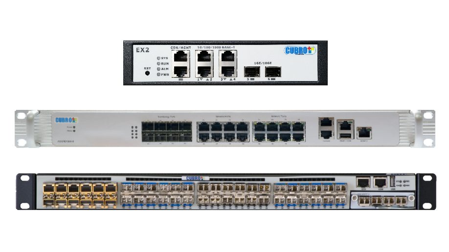 Cubro develops Network Packet Brokers for networks of all sizes